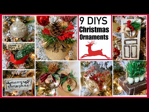 Dollar Tree CHRISTMAS DIY Ornaments