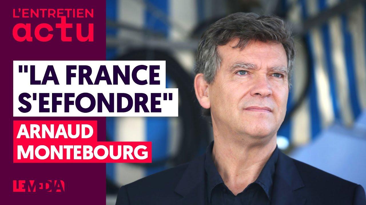 """LA FRANCE S'EFFONDRE"" - ARNAUD MONTEBOURG"