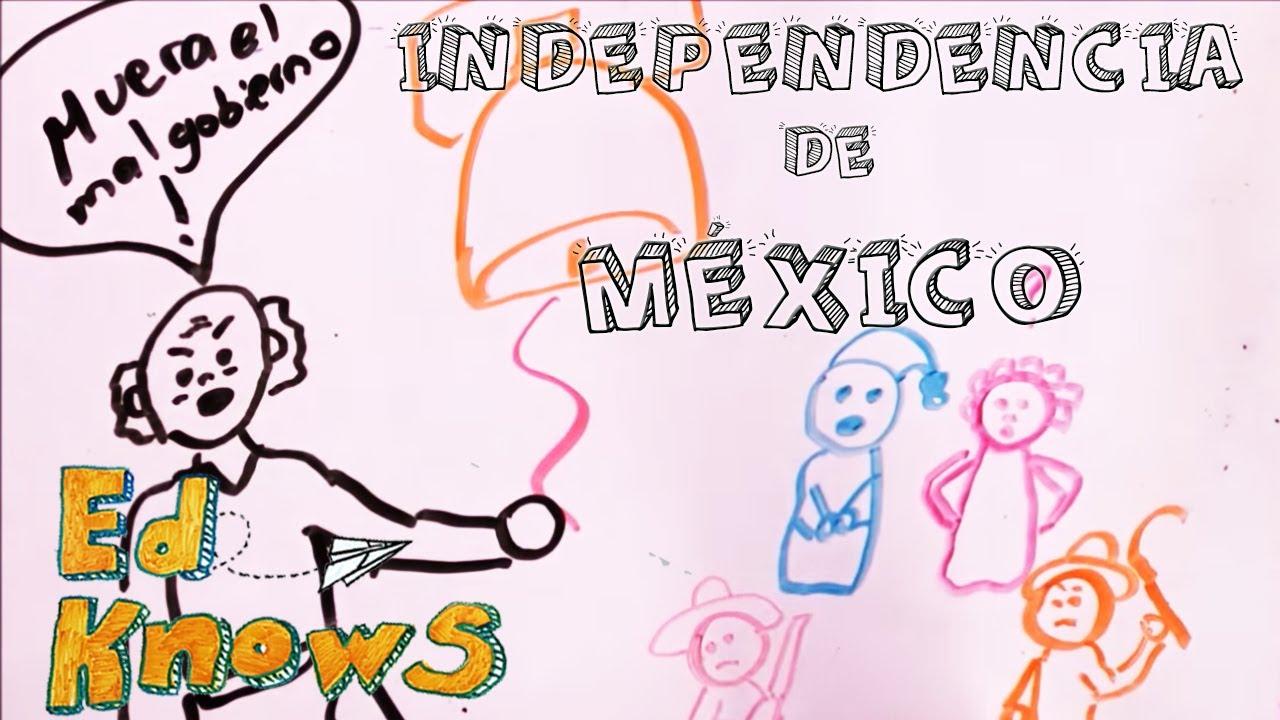 La Independencia De México Para Niños Youtube