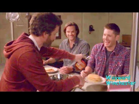Supernatural Season 1 - 15 FULL GAG REEL Supercut | Funniest Supernatural Bloopers VS Real Life