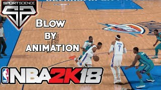 NBA 2K18 Sports Science SPECIAL EDITION: The NBA 2K18 Blow By Animation