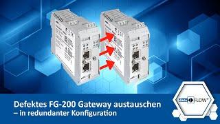 Defektes FG-200 Gateway austauschen – in redundanter Konfiguration