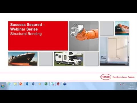 LOCTITE Webinar: The power of structural adhesives