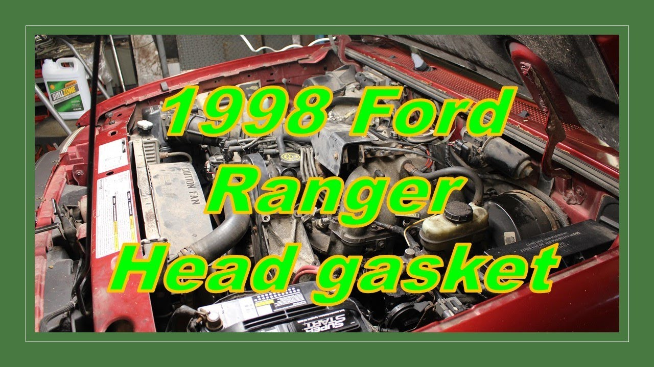 Shop Time Replacing A Head Gasket In A Ford Ranger