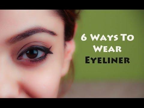 6 Ways To Wear Eyeliner (Hindi)
