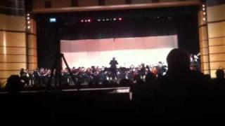 Edmond Santa Fe High School Orchestra concert