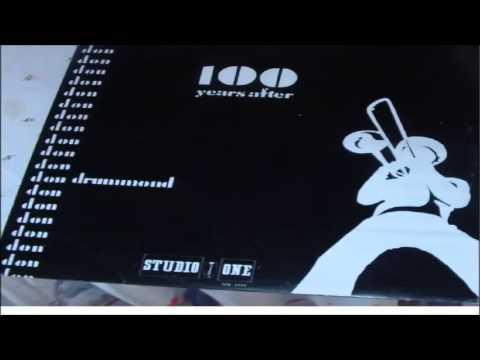 DON DRUMMOND       DON  COSMIC        LP  STUDIO  ONE