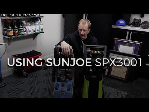 Using SunJoe SPX3001 on My GT3