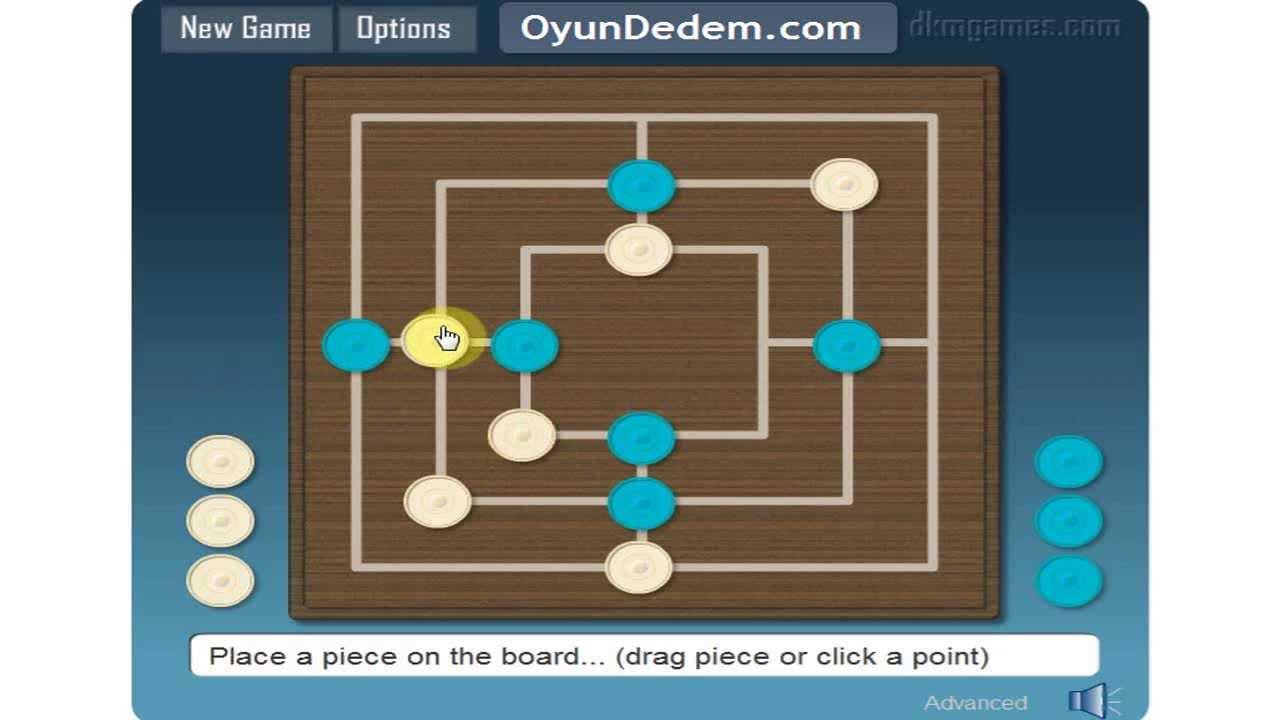 Nine Men S Morris How To Play Gameplay Youtube