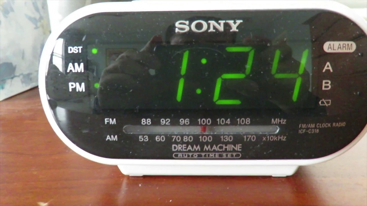 sony dream machine icf c318 dst daytime saving time and changing rh youtube com sony dream machine clock radio icf-c318 manual sony dream machine icf-c318 manuel