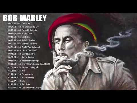 Bob Marley Greatest Hits Reggae Songs 2018 - Bob Marley Full Album