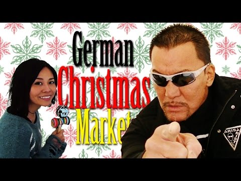 「黒のカリスマ」蝶野正洋降臨! German Xmas Market & Mr. Black Jack Masahiro Chono Interview