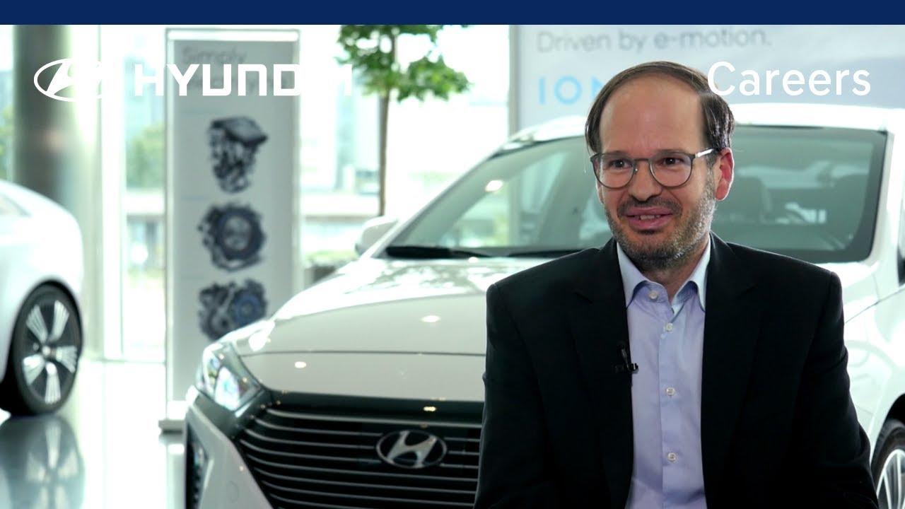 Careers at Hyundai Motor Europe – Javier García - YouTube