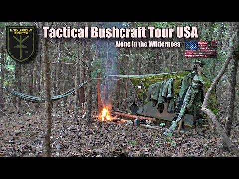 Bushcraft Tour USA - alleine in der Wildnis - Camp, Fire, Fishing & Survival - Teil 2