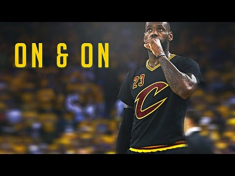 Cartoon - On & On | Lebron James | NBA 2016 Finals Game 7