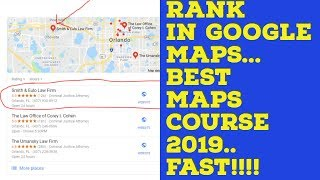 How to Rank in Google Maps in 2019  In Only 7 to 14 Days