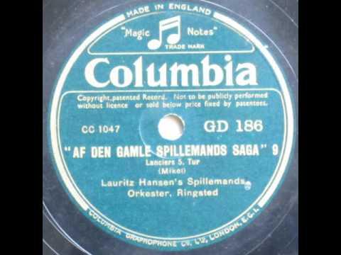 Lanciers 5. Tur - Lauritz Hansen's Spillemands Orkester, Ringsted 1939