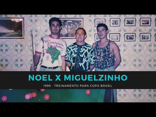 Noel x Miguelzinho - 1998: Duas tacadas de 75 pontos + 10 partidas