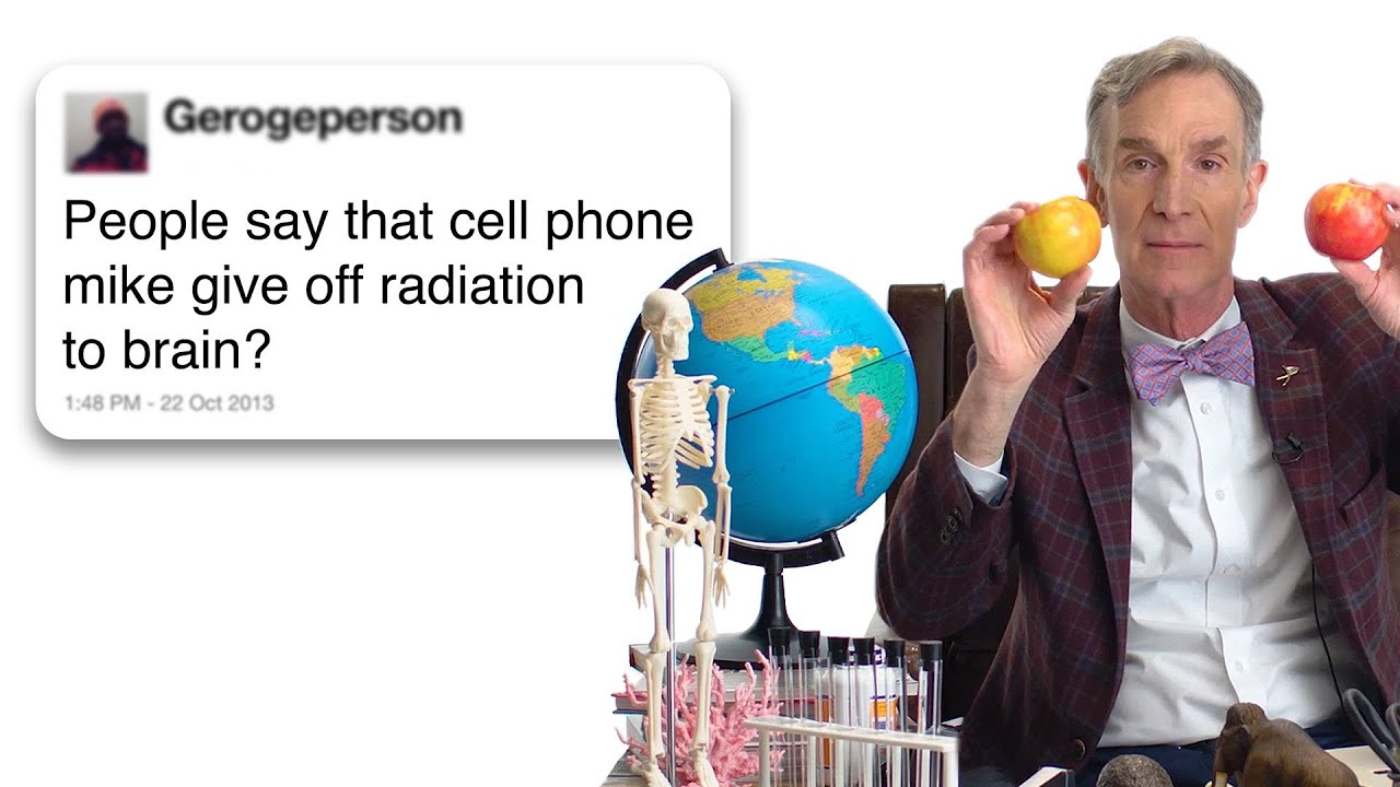 Bill Nye Answers Science Questions From Twitter | Tech Support | WIRED