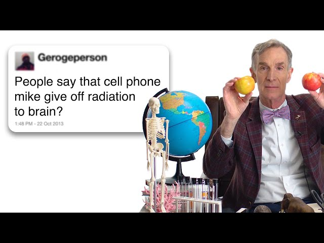 Bill Nye Answers Science Questions From Twitter | WIRED
