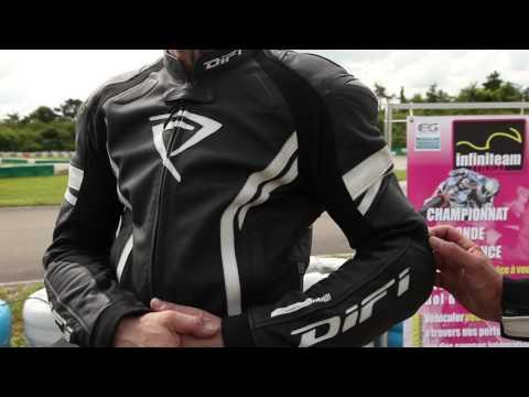 MotoPort - Combinaison moto cuir Difi Silverstone