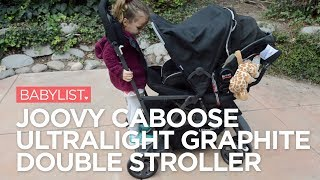 JOOVY Caboose Ultralight Graphite Stroller Review