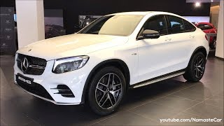 Mercedes-AMG GLC 43 4MATIC Coupé 2018 | Real-life review
