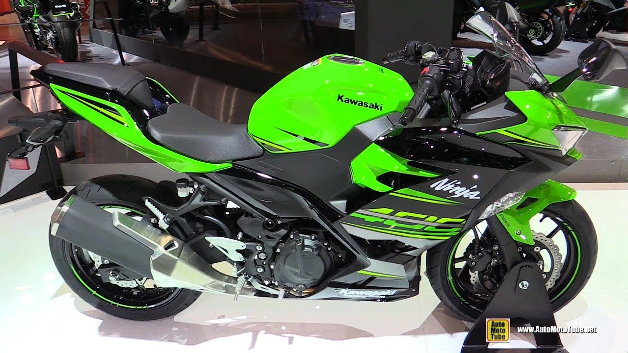 2018 kawasaki ninja 400 walkaround 2017 eicma milan. Black Bedroom Furniture Sets. Home Design Ideas