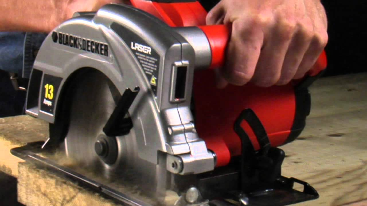 Black And Decker Circular Saw Blade Change