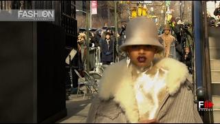 MARC JACOBS Fall Winter 2017 18 New York Fashion Show   Fashion Channel