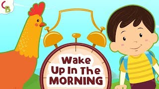 Wake Up In The Morning - Good Morning Song - Good Habits for Kids | Cuddle Berries Nursery Rhymes