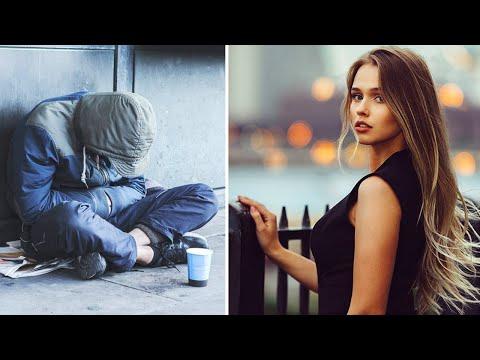 Нищий пригласил богатую девушку на свидание, но он и представить себе не мог, что произойдёт дальше.