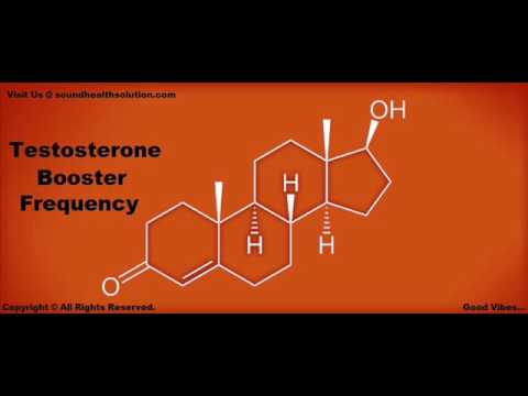 Extremely Powerful Testosterone Booster Frequency : Pure Binaural Beats + White Noise Meditation
