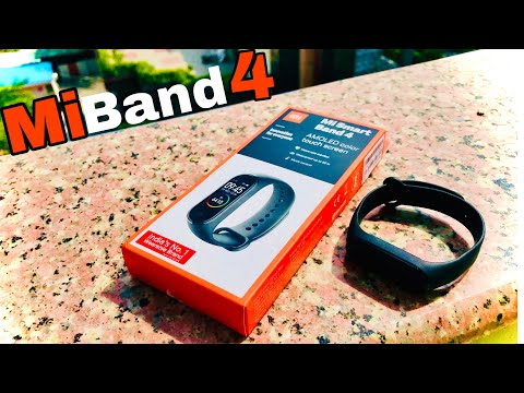 Xiaomi Mi Band 4 Unboxing 1st Sale| Review | Water Test |
