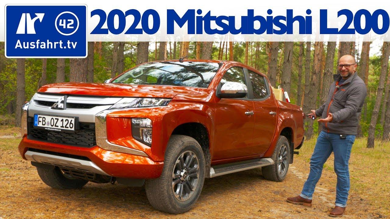 2020 Mitsubishi L200 Price