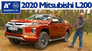 2020 Mitsubishi L200 Doka 2.2 AT6 4WD - Kaufberatung, Test deutsch, Review, Fahrbericht