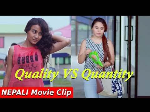 Quality vs Quantity || Nepali Movie Clip || Hostel Returns