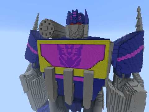 Minecraft Transformers Wfcfoc Soundwave YouTube