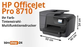 multifunktionsdrucker hp officejet 8710 aio