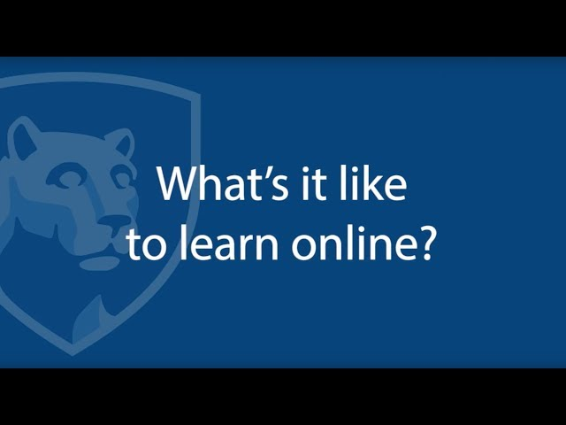 Watch How Online Learning Works: What to Expect on YouTube.