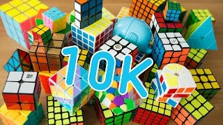 My Rubik's Cube Collection | 10k Subscribers Special!