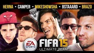 MIKESHOWSHA GIOCA IN DIFFERITA - #ILLUMINATICREW - FIFA 15 w/iNoobChannel - Bstaaard - Mike - Herna