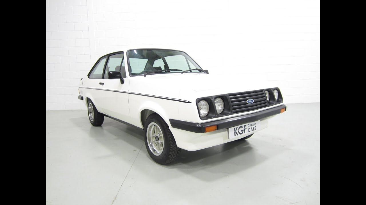 An Impeccable, as New and Completely Rebuilt Ford Escort RS 2000 ...