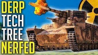 Full Derp Line NERFED! ► World of Tanks Japanese Heavy Tanks - Update 1.5