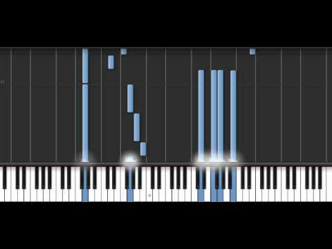 Synthesia Piano - John Barry :Somewhere in time