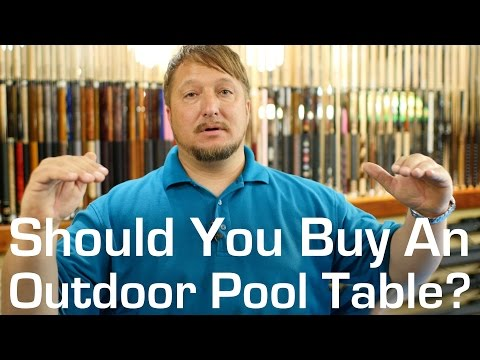 Should You Buy An Outdoor Pool Table?