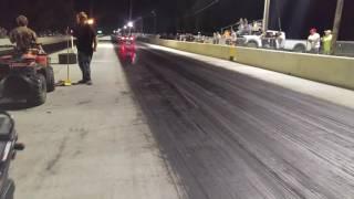 mickey b i57 drag strip wheelie contest