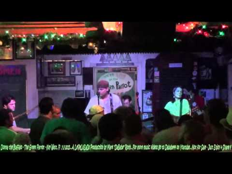 Donna the Buffalo – The Green Parrot – Key West, Fl  1- 2- 2015