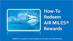 How to Redeem AIR MILES