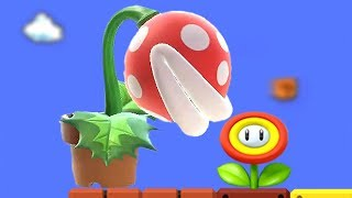 A Piranha Plant holding a Smaller Plant in Super Smash Bros Ultimate + other items